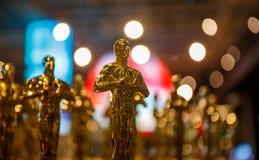 Oscar vinnare har meddelats! royaltyfri bild