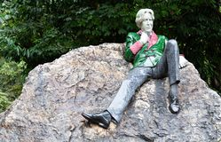 Oscar Wilde obraz stock