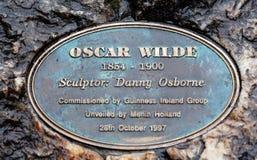 Oscar Wilde stock photo