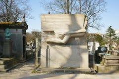 Oscar Wilde Grobowcowy Père Lachaise Zdjęcie Royalty Free