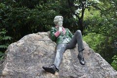 Oscar Wilde-Monument Lizenzfreies Stockbild