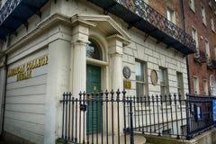 Free Oscar Wilde`s House At Merrion Square, Dublin, Ireland Stock Photos - 96395963