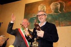 The oscar-winning director alfonso Cuarón Royalty Free Stock Photos