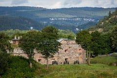 Oscarsborg fästning Sondre Kaholmen Royaltyfri Fotografi