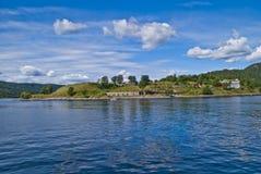 Oscarsborg Festung lizenzfreies stockbild