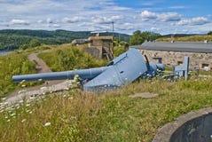 Oscarsborg fortress (cannon) Stock Image