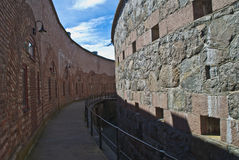 Oscarsborg fortress (the defenses) Stock Photo