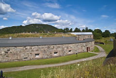 Oscarsborg fortress (defensive walls) Stock Images