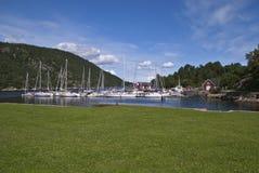 Oscarsborg fortress (marina) Royalty Free Stock Photography