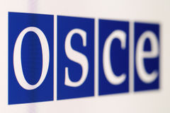 OSCE immagine stock libera da diritti