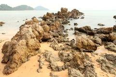 Oscila el verano Chantaburi Tailandia de la playa Fotos de archivo