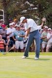 Oscilación completo 2 de Tiger Woods de 6 Fotografía de archivo