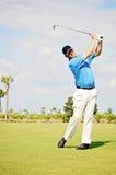 Oscilación del golf Fotografía de archivo