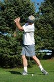 Oscilación del golf Fotos de archivo