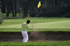 Oscilación del golf en tessali del dei del riva Fotografía de archivo