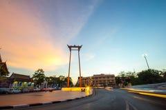 Oscilación gigante Tailandia Imagen de archivo libre de regalías