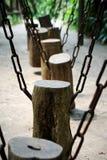 Oscilación del tocón Foto de archivo libre de regalías