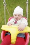 Oscilaciones del bebé Fotos de archivo libres de regalías