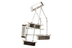 Osciladores cristalinos aislados Imagenes de archivo