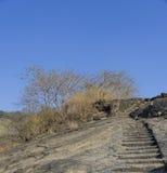 Oscile las cuevas, Kanheri, Mumbai, la India Imagen de archivo libre de regalías