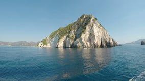 Oscile las islas del archipiélago visto de un barco de la travesía - metrajes