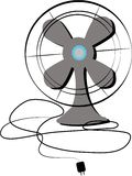Oscillating Fan Stock Image