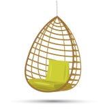 Oscillation accrochante de chaise illustration stock