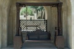 Oscillation conçue à la station de vacances arabe de luxe de désert Image libre de droits