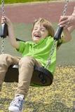 Oscillation d'enfant Photo libre de droits