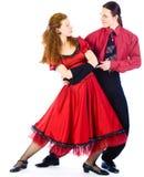 oscillation de danseurs Photographie stock