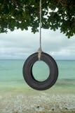 Oscillation de pneu Photographie stock libre de droits