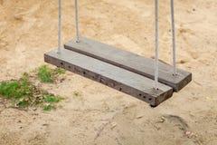 Oscillation en bois Photographie stock libre de droits