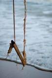 Oscillation en bois Image libre de droits