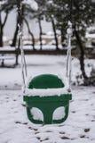 Oscillation gelée Photos libres de droits
