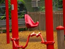 Oscillation rouge Photo stock