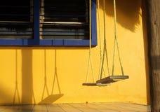Oscillations de porche Photographie stock libre de droits