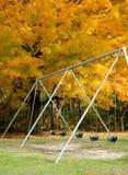 Oscillations en automne photos libres de droits