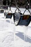 Oscillations glaciales Images libres de droits