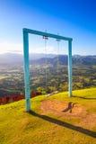 Oscillations sur Montana Redonda Photos libres de droits