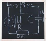 Oscillatory circuit Stock Photo