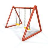 Oscillazione arancio Fotografia Stock Libera da Diritti