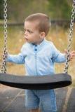 Oscillazione del bambino Immagini Stock