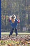 Oscillazione della bambina Fotografia Stock Libera da Diritti