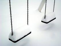 Oscillazione della neve Fotografia Stock Libera da Diritti