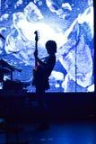 Oscillazione della questa chitarra Fotografia Stock Libera da Diritti