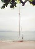 Oscillazione della spiaggia Immagini Stock