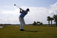 Oscillazione di golf Immagini Stock