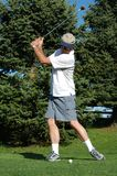 Oscillazione di golf fotografie stock