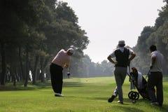 Oscillazione di golf in tessali di dei di riva Fotografia Stock