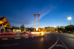 Oscillazione gigante Tailandia Fotografie Stock